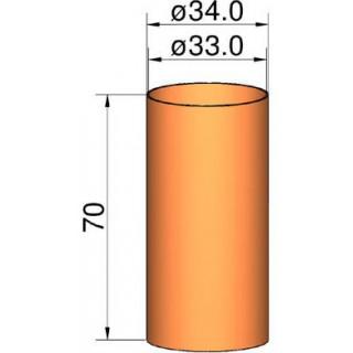 Klima csőcsatlakozás 35mm, átm. 34mm x 70mm
