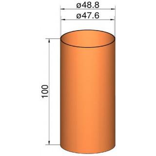 Klima Spojka 50mm trubek pr. 48.8mm x 100mm