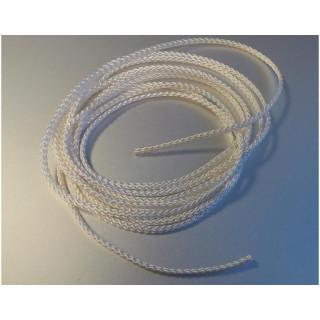Klima Šňůra pletená polyamid pr. 3mm 3m bílá