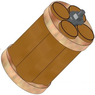 Klima Držák motoru 50mm / 4x 18mm