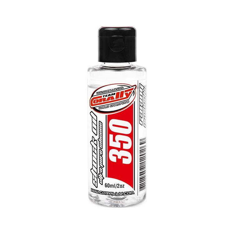 Corally silikonový olej do tlumičů 350cSt 60ml