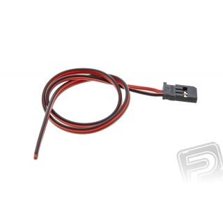 Akku kábel Futaba, PVC 0.25mm, 20cm