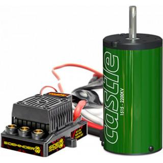 Castle motor 1515B 2200ot/V, reg. Sidewinder 8
