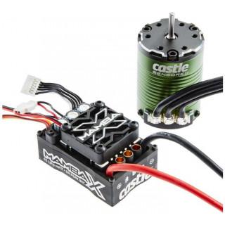 Castle motor 1406 7700ot/V senzored, reg. Mamba X