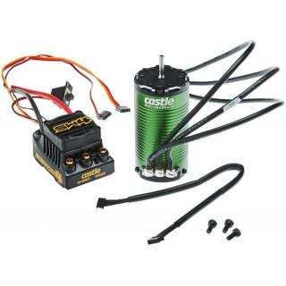 Castle motor 1415 2400ot/V senzored, reg. Sidewinder 4