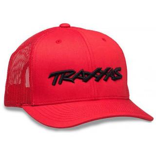 Traxxas kšiltovka červená
