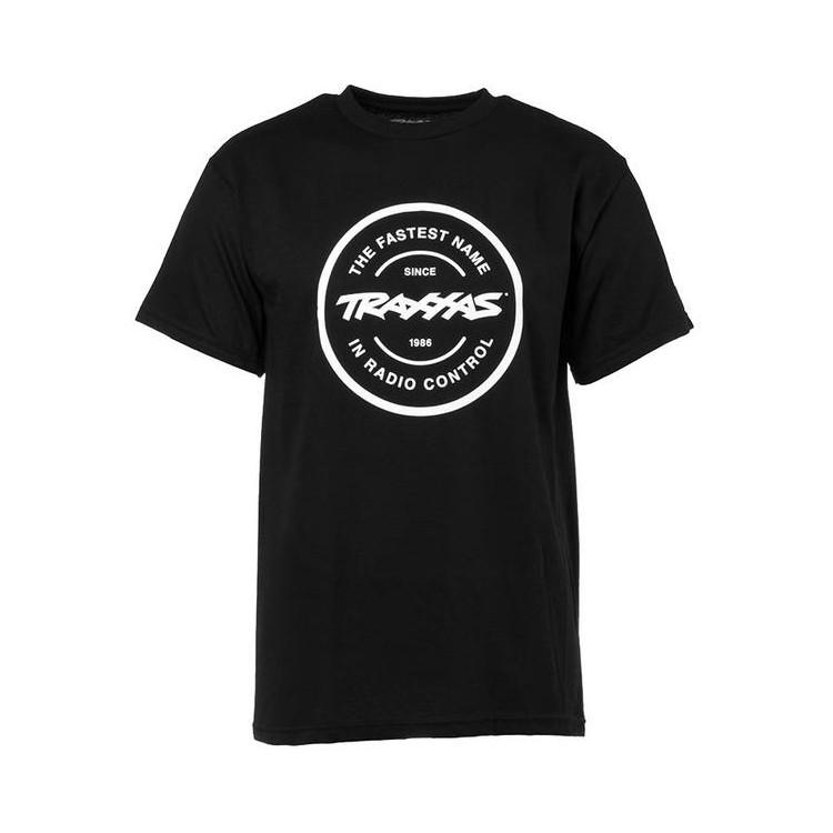 Traxxas tričko Radio Control černé XL