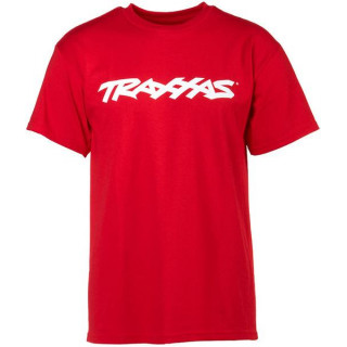 Traxxas póló TRAXXAS piros L