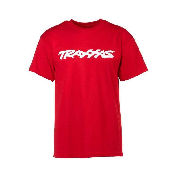 Traxxas tričko s logem TRAXXAS červené L