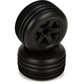 ECX Circuit - Kola kompletní s pneu přední (2)