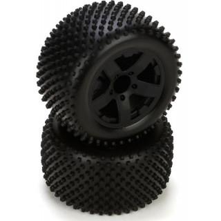 ECX Circuit - Kola kompletní s pneu zadní (2)