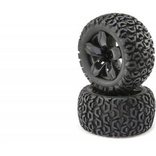ECX 1:10 Ruckus 4WD - Kolo s pneu P/Z (2)