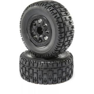 ECX 1:10 Torment 4WD - Kolo s pneu P/Z (2)