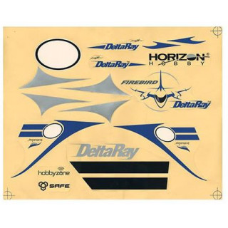 Firebird DeltaRay - samolepky