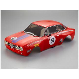 Killerbody karoszéria 1:10 Alfa Romeo 2000 GTAm piros