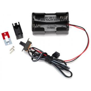 Traxxas pouzdro baterií 4AA s vypínačem