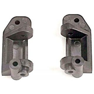 Traxxas plastové závěsy těhlic 30° šedé (L+P)