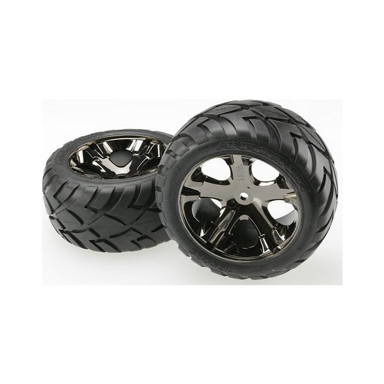 """Traxxas kolo 2.8"""", disk All-Star černý chrom, pneu Anaconda (2) (zadní)"""