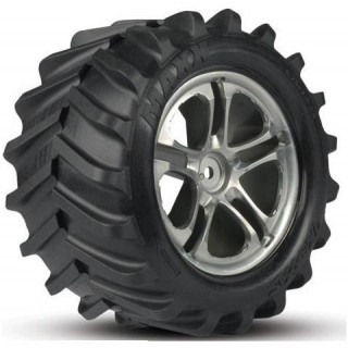 "Traxxas pneu 3.8"" Maxx Chevron (pár)"