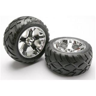 """Traxxas kolo 2.8"""" All-Star stříbrný, pneu Anaconda (2) (nitro Z/, elektro P)"""