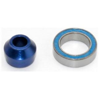 Traxxas hliníkové pouzdro ložiska, ložisko 10x15x4mm