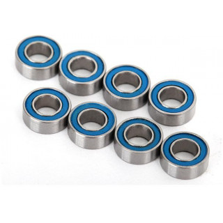 Traxxas kuličkové ložisko 4x8x3mm 2RS modré (8)