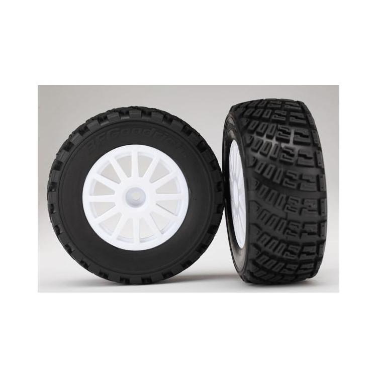 """Traxxas kolo 2.2/3.0"""", disk Rally bílý, pneu Gravel S1 (2)"""
