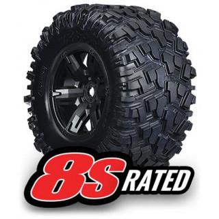 """Traxxas kolo 4.3/5.7"""", disk černý, pneu Maxx AT (pár)"""