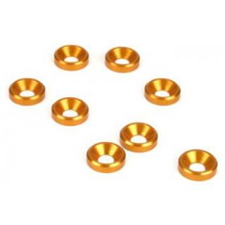 Podložka pod šrouby ZH M4 zlatá (10)
