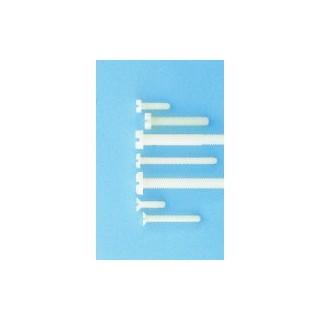 Poliamid csavar hengeres fejjel M5x30 (10 darab)