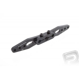 Szervó kar 89mm kétoldalas 24 fogas (fekete), H szervóhoz
