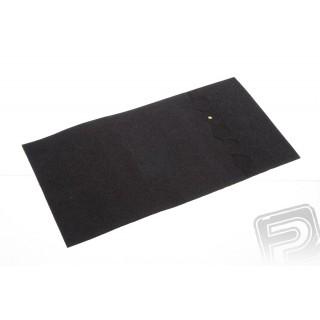 Gumové podložky - kulaté tenké 15x0.8mm (50ks)