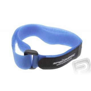Suchý zip 40x1.5cm (modrý)