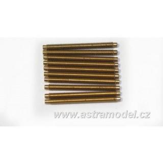Menetes rúd sárgaréz M2x25 (10)