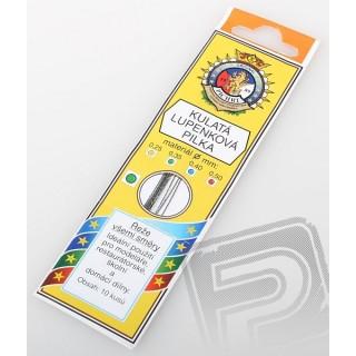 Lupenková pilka 0.35mm list kulatý
