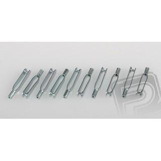 Összekötő villa (Snapper) - fém, M2, 10 db, PEL