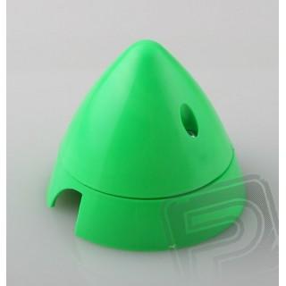 Fluorescenční kužel 70mm 2-listý, zelená