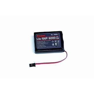 Vysílačový pack, LiPo 1SxP/6000 3,7V TX