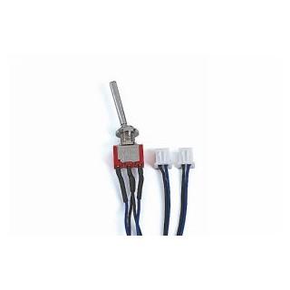 Vypínač dlouhý, 3-polohový s 1x momentovou funkcí