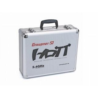 Alu-távirányító koffer, GRAUPNER HoTT