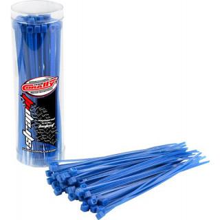 Corally stahovací pásek 2.5x100mm modrý (50)