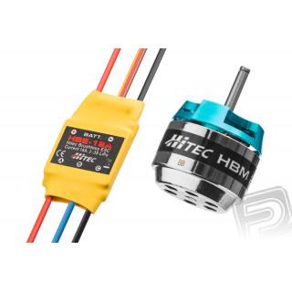 Combo motor HBM2812-1100/regulátor HBE-18A HITEC