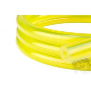 Benzin tömlő, sárga 3 x 6 mm (1 méter)