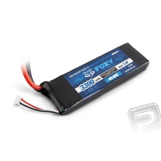 FOXY G2 - LC Li-Pol 3300mAh/7,4V 40/80C 24,4Wh