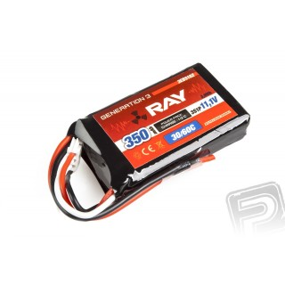G3 RAY Li-Pol 350mAh/11,1 26/50C Air pack 3,9Wh