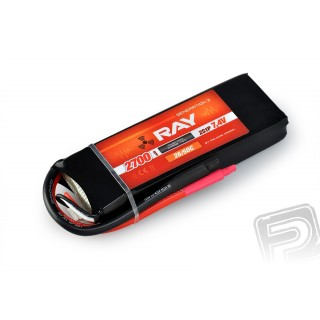 G3 RAY Li-Pol 2700mAh/7,4 26/50C Air pack 20,0Wh