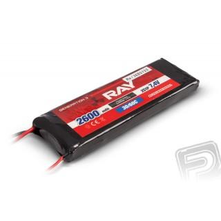 G3 RAY Li-Pol 2600mAh/7,4V 30/60C přijímačový pack 19,2Wh