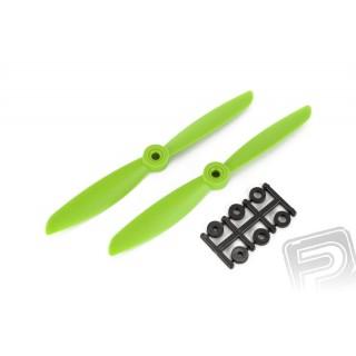 Vrtule HQ 5x4,5 CW 1 pár (zelená)