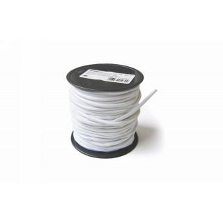 Indító gumi, gömbölyű, 3mm, fehér
