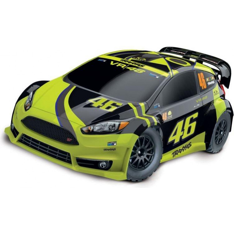 Traxxas Ford Fiesta 1:10 4WD RTR Valentino Rossi